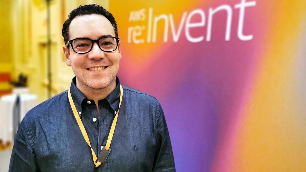 Eric Morales leder AWS' europeiske gruppe som arbeider med spillteknologi, med ansatte blant i Storbritannia, Norden, Frankrike og Midt-Østen. Foto: Stian Sønsteng