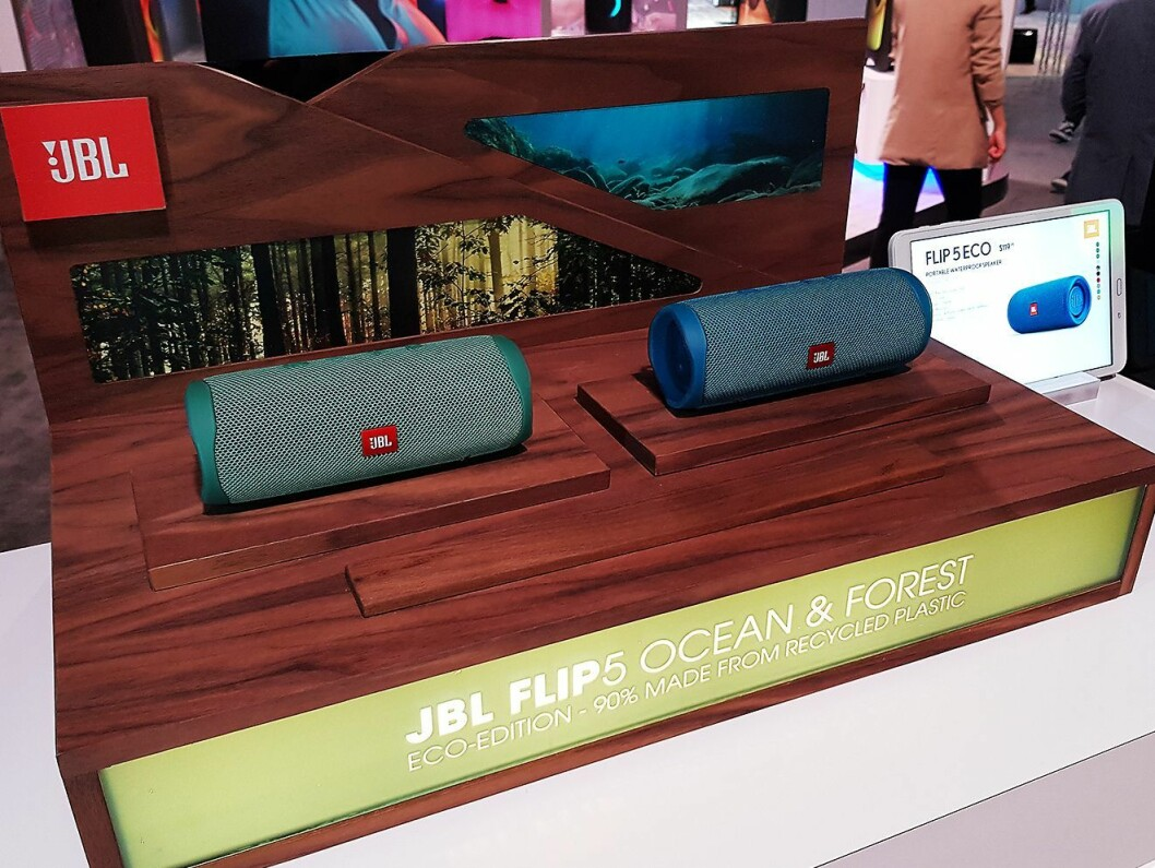 Flip 5 Eco er produsert av 90 % resirkulert plast. Foto: Jan Røsholm.