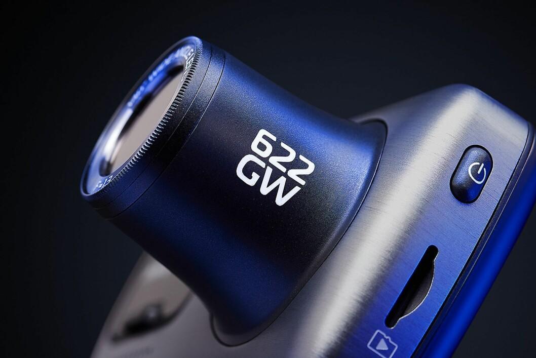 622GW tar opptak i 4K-oppløsning og har digital bildestabilisering. Pris: 3.300,- Foto: Nextbase.