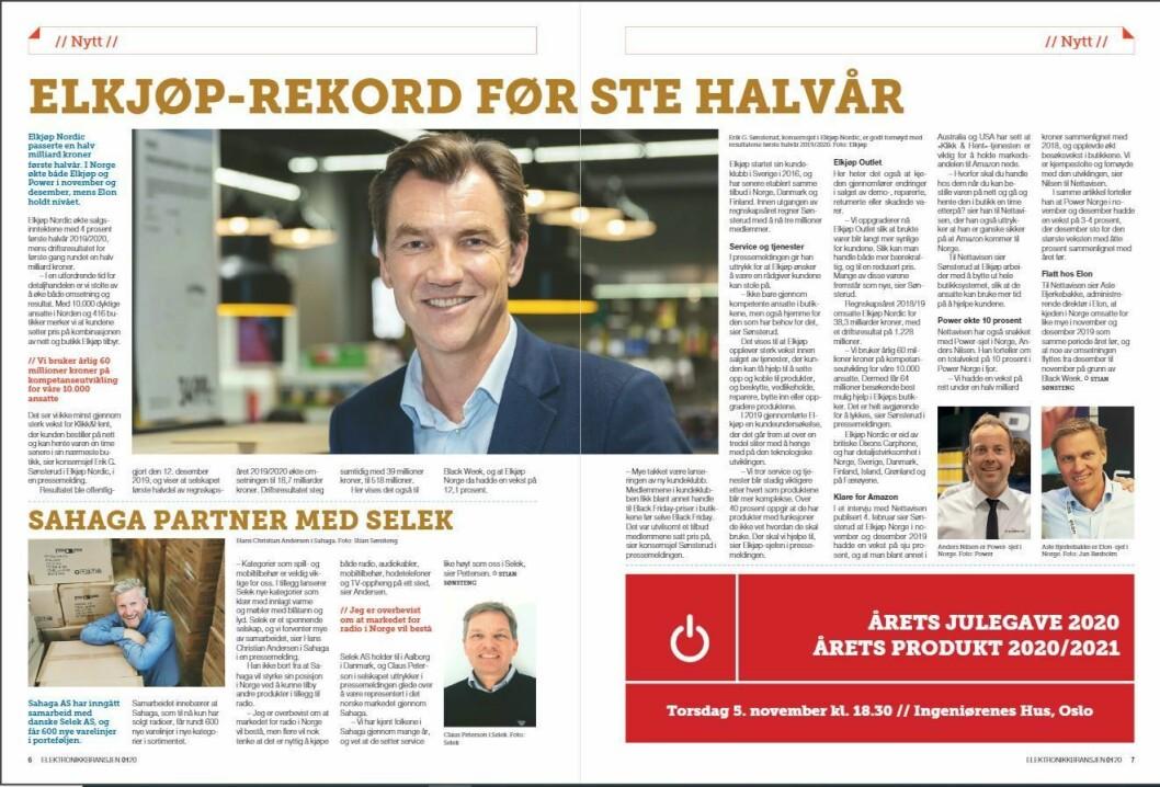 """Artikkelen ble første gang publisert i papirutgaven av fagbladet Elektronikkbransjen nr. 1/2020, som ble distribuert 13. februar. <a href=""""https://www.mypaper.se/html5/customer/248/12757/?page=6"""" target=""""_blank"""" rel=""""noopener"""">Her kan du lese artikkelen</a> og bla gjennom digitalutgaven av bladet. Du kan lese alle utgaver av bladet digitalt, fra og med nr. 1/1937, på <a href=""""https://www.elektronikkbransjen.no/historiskarkiv"""" target=""""_blank"""" rel=""""noopener"""">elektronikkbransjen.no/historiskarkiv</a>."""