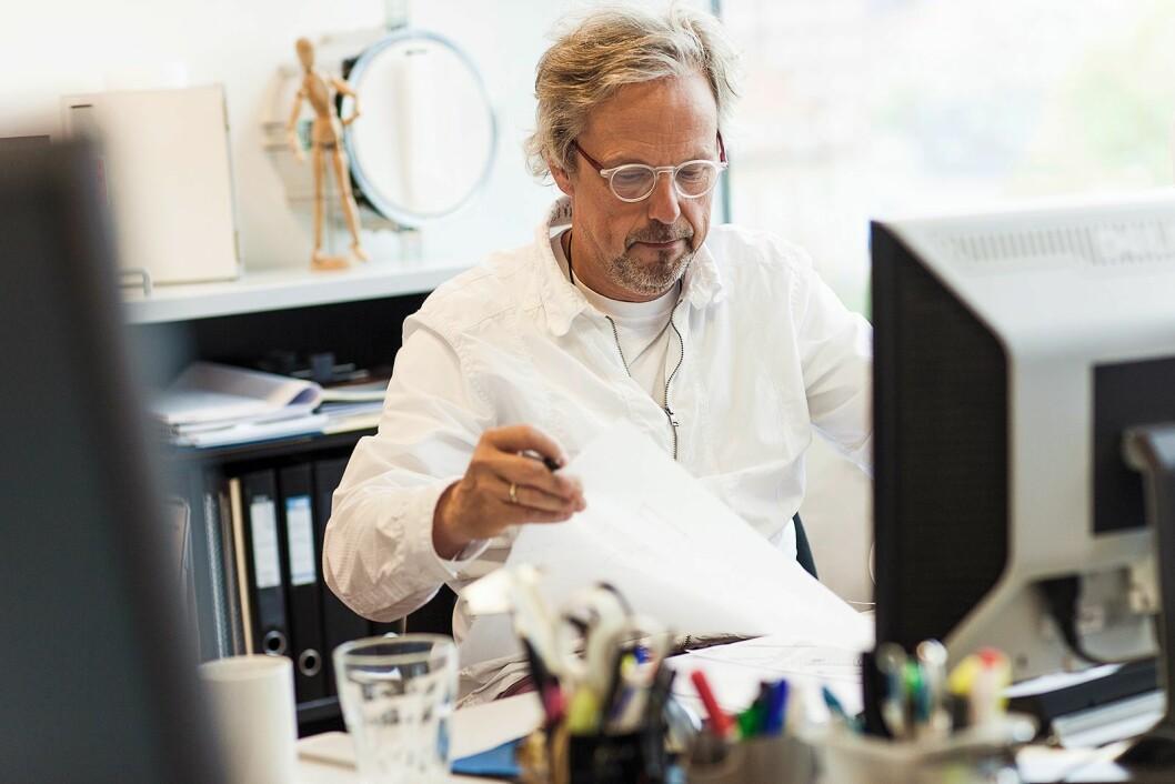 Torben Madsen har designet Lizns første ørepropper. Foto: Lizn.