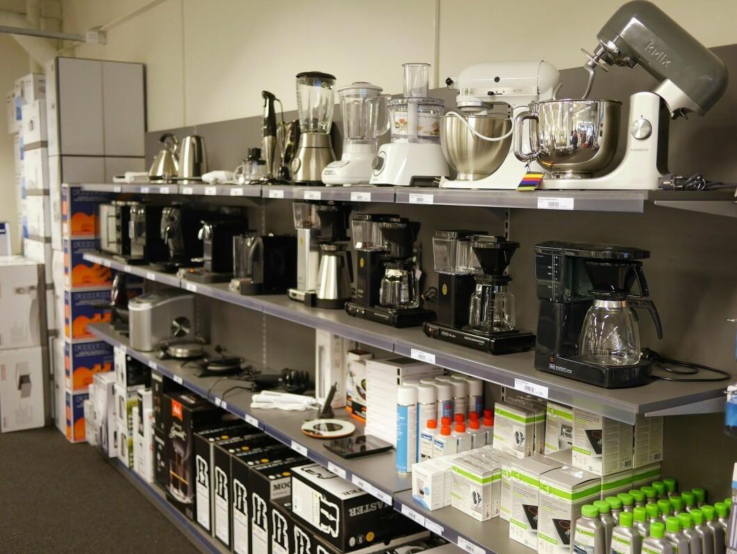 Salget av kjøkkenprodukter faller noe i 2019. Foto: Stian Sønsteng.