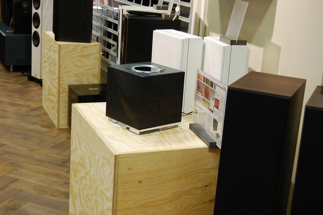 Fra Soundgardens nye butikk i Bergen. Foto: Soundgarden.