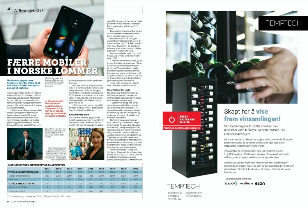 """Artikkelen er også publisert i papirutgaven av fagbladet Elektronikkbransjen nr. 1/2020, som ble distribuert 12. februar. <a href=""""https://www.mypaper.se/html5/customer/248/12757/?page=22"""" target=""""_blank"""" rel=""""noopener"""">Her kan du lese artikkelen</a> og bla gjennom digitalutgaven av bladet. Du kan lese alle utgaver av bladet digitalt, fra og med nr. 1/1937, på <a href=""""https://www.elektronikkbransjen.no/historiskarkiv"""" target=""""_blank"""" rel=""""noopener"""">elektronikkbransjen.no/historiskarkiv</a>."""
