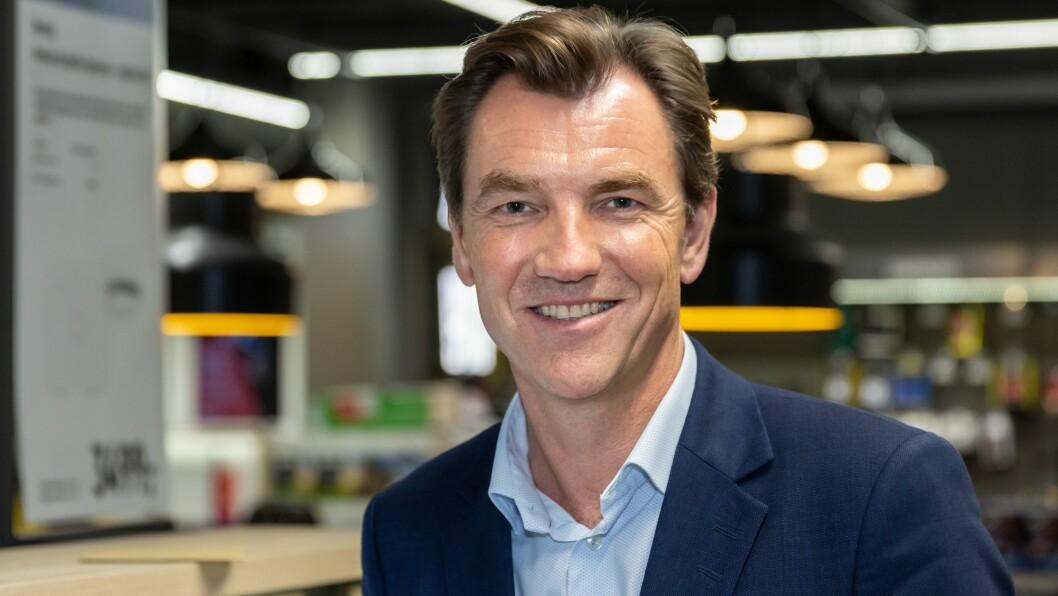 Erik G. Sønsterud, konsernsjef i Elkjøp Nordic, er godt fornøyd med resultatene første halvår 2019/2020. Foto: Elkjøp