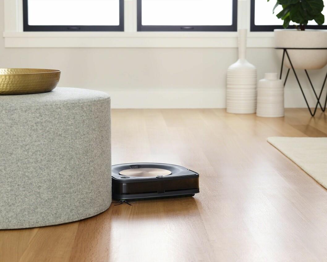 Robotstøvsugere blir stadig mer populære i norske hjem, og kategorien står nå for 18 prosent av støvsugersalget i Norge. Foto: iRobot.