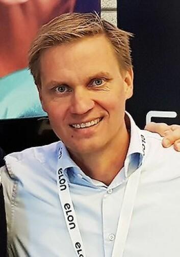 Asle Bjerkebakke er Elon-sjef i Norge. Foto: Jan Røsholm.