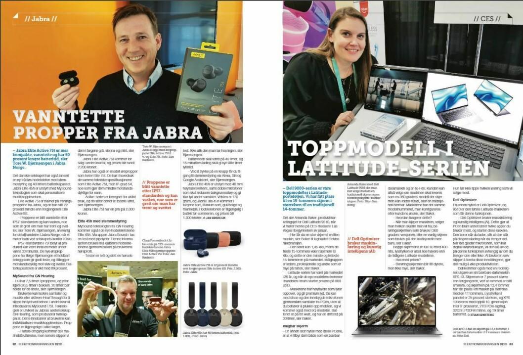 """Artikkelen ble første gang publisert i papirutgaven av fagbladet Elektronikkbransjen nr. 2/2020, som ble distribuert 14. april. <a href=""""https://www.mypaper.se/html5/customer/248/12832/?page=82"""" target=""""_blank"""" rel=""""noopener"""">Her kan du lese artikkelen</a> og bla gjennom digitalutgaven av bladet. Du kan lese alle utgaver av bladet digitalt, fra og med nr. 1/1937, på <a href=""""https://www.elektronikkbransjen.no/historiskarkiv"""" target=""""_blank"""" rel=""""noopener"""">elektronikkbransjen.no/historiskarkiv</a>."""
