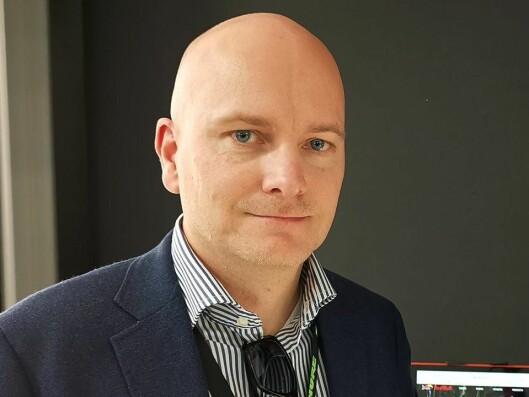 Salgssjef Arild Høyem i Benum. Foto: Stian Sønsteng.