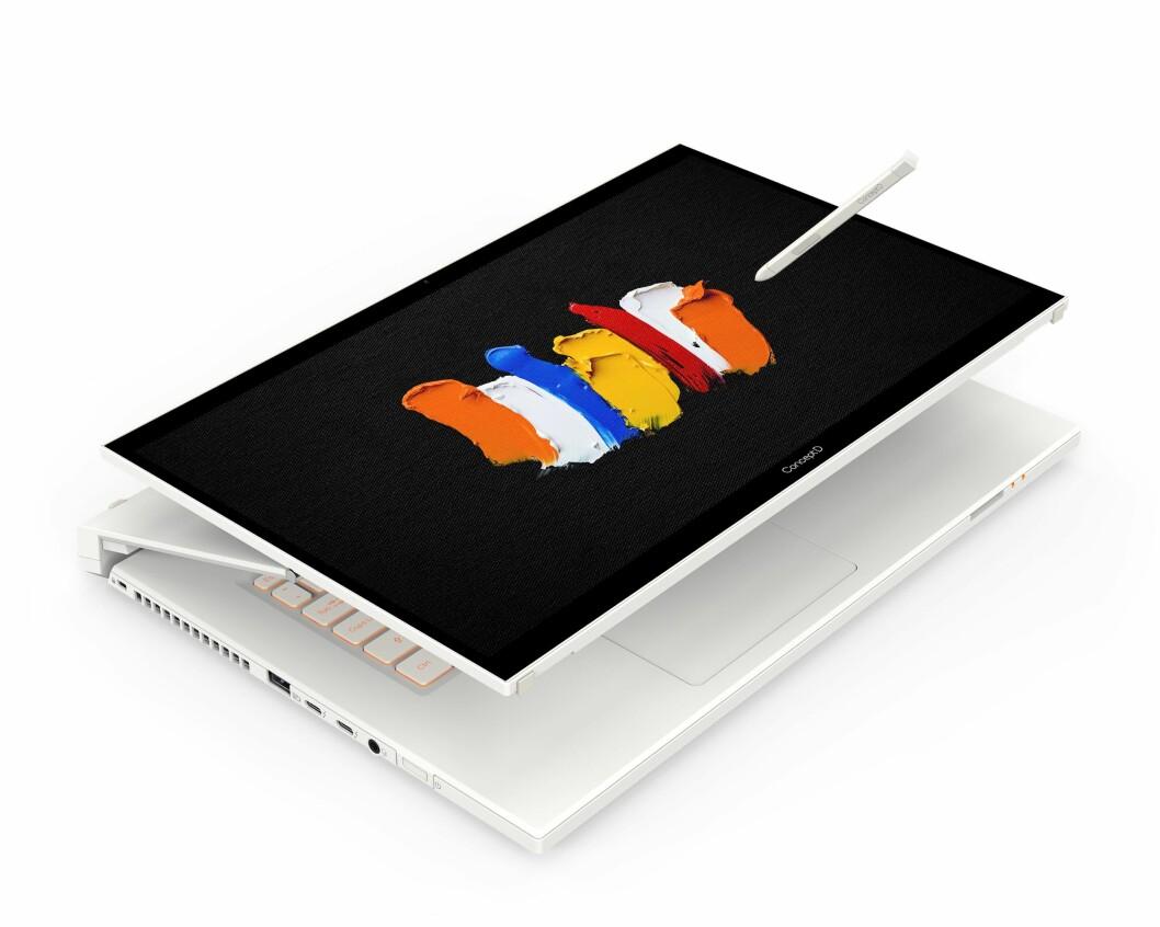 Acer ConceptD 7 Ezel er utviklet for de som trenger ekstra datakraft. Foto: Acer.
