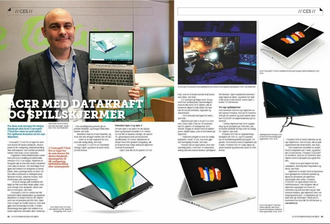 """Artikkelen ble første gang publisert i papirutgaven av fagbladet Elektronikkbransjen nr. 2/2020, som ble distribuert 14. april. <a href=""""https://www.mypaper.se/html5/customer/248/12832/?page=88"""" target=""""_blank"""" rel=""""noopener"""">Her kan du lese artikkelen</a> og bla gjennom digitalutgaven av bladet. Du kan lese alle utgaver av bladet digitalt, fra og med nr. 1/1937, på <a href=""""https://www.elektronikkbransjen.no/historiskarkiv"""" target=""""_blank"""" rel=""""noopener"""">elektronikkbransjen.no/historiskarkiv</a>."""