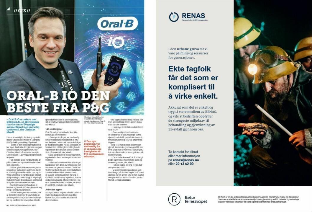 """Artikkelen ble første gang publisert i papirutgaven av fagbladet Elektronikkbransjen nr. 2/2020, som ble distribuert 14. april. <a href=""""https://www.mypaper.se/html5/customer/248/12832/?page=80"""" target=""""_blank"""" rel=""""noopener"""">Her kan du lese artikkelen </a>og bla gjennom digitalutgaven av bladet. Du kan lese alle utgaver av bladet digitalt, fra og med nr. 1/1937, på <a href=""""https://www.elektronikkbransjen.no/historiskarkiv"""" target=""""_blank"""" rel=""""noopener"""">elektronikkbransjen.no/historiskarkiv</a>."""