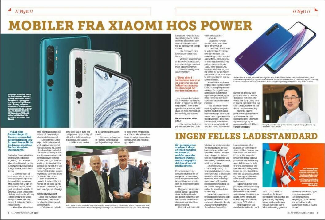 """Artikkelen ble første gang publisert i papirutgaven av fagbladet Elektronikkbransjen nr. 2/2020, som ble distribuert 14. april. <a href=""""https://www.mypaper.se/html5/customer/248/12832/?page=6"""" target=""""_blank"""" rel=""""noopener"""">Her kan du lese artikkelen</a> og bla gjennom digitalutgaven av bladet. Du kan lese alle utgaver av bladet digitalt, fra og med nr. 1/1937, på <a href=""""https://www.elektronikkbransjen.no/historiskarkiv"""" target=""""_blank"""" rel=""""noopener"""">elektronikkbransjen.no/historiskarkiv</a>."""