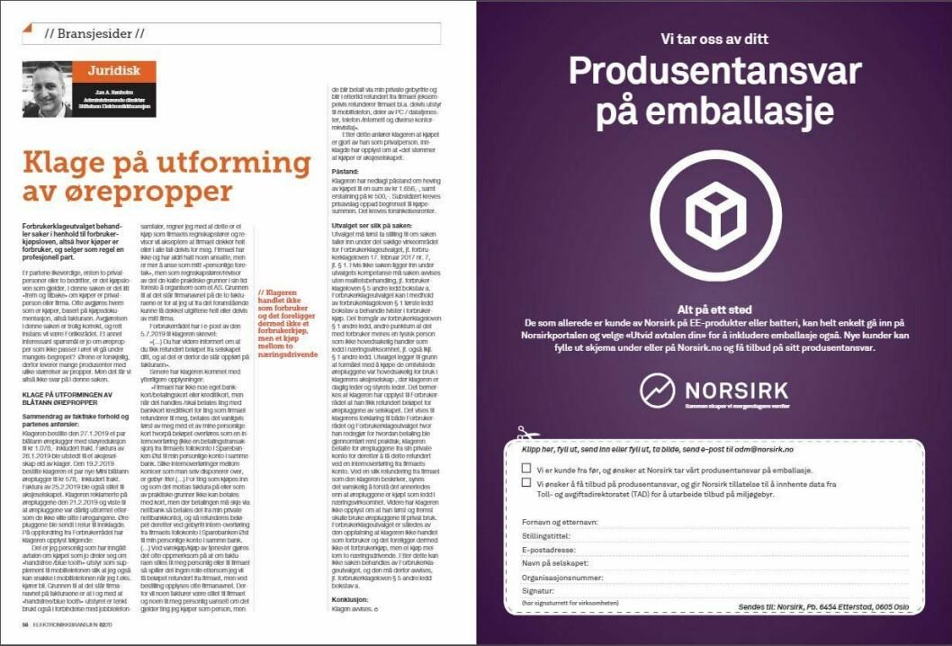 """Artikkelen ble første gang publisert i papirutgaven av fagbladet Elektronikkbransjen nr. 2/2020, som ble distribuert 14. april. <a href=""""https://www.mypaper.se/html5/customer/248/12832/?page=56"""" target=""""_blank"""" rel=""""noopener"""">Her kan du lese artikkelen</a> og bla gjennom digitalutgaven av bladet. Du kan lese alle utgaver av bladet digitalt, fra og med nr. 1/1937, på <a href=""""https://www.elektronikkbransjen.no/historiskarkiv"""" target=""""_blank"""" rel=""""noopener"""">elektronikkbransjen.no/historiskarkiv</a>."""