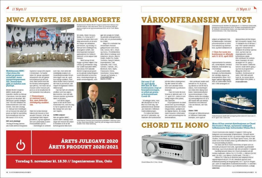 """Artikkelen ble første gang publisert i papirutgaven av fagbladet Elektronikkbransjen nr. 2/2020, som ble distribuert 14. april. <a href=""""https://www.mypaper.se/html5/customer/248/12832/?page=10"""" target=""""_blank"""" rel=""""noopener"""">Her kan du lese artikkelen</a> og bla gjennom digitalutgaven av bladet. Du kan lese alle utgaver av bladet digitalt, fra og med nr. 1/1937, på <a href=""""https://www.elektronikkbransjen.no/historiskarkiv"""" target=""""_blank"""" rel=""""noopener"""">elektronikkbransjen.no/historiskarkiv</a>."""
