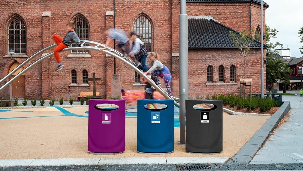 De nye nasjonale avfallsmerkene. Illustrasjon: Loop