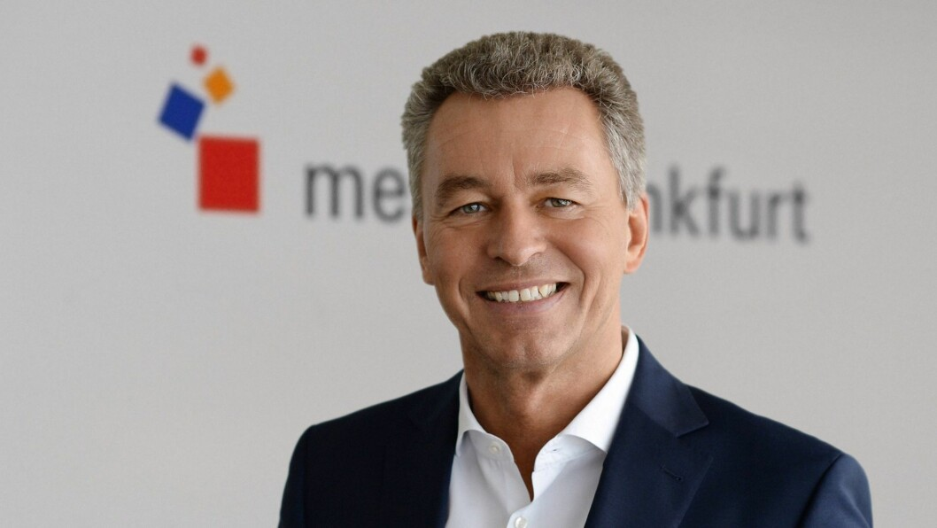 Detlef Braun er styremedlem i Messe Frankfurt GmbH. Foto: Messe Frankfurt.