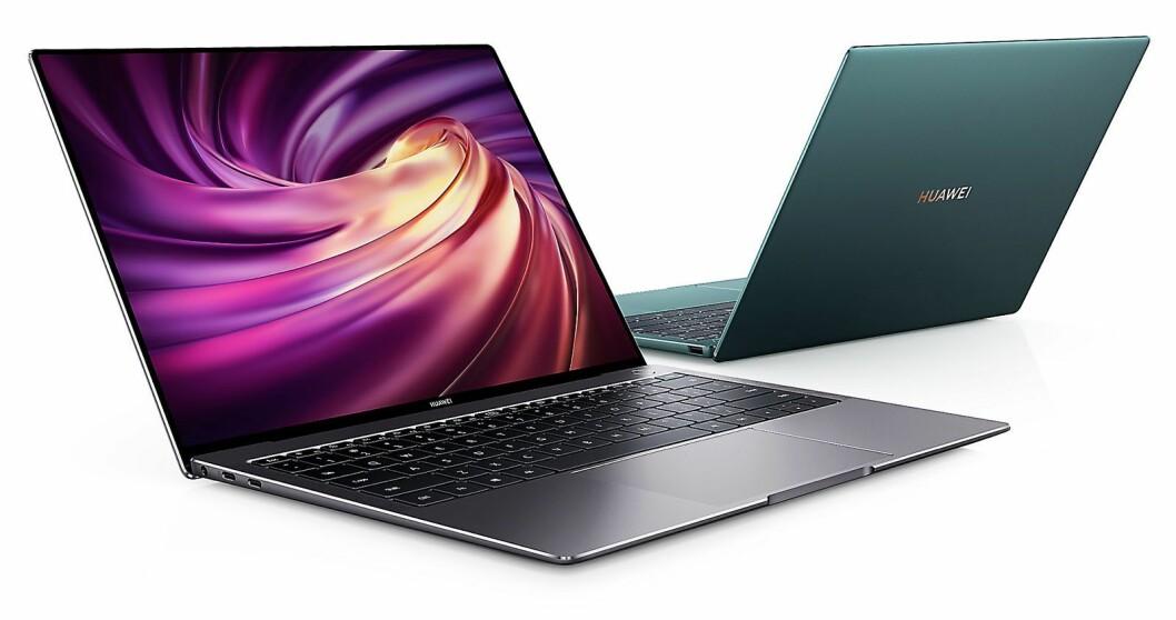 Huawei fortsetter sin satsing på bærbar-markedet, og lanserer den oppdaterte Huawei MateBook X Pro. Foto: Huawei.