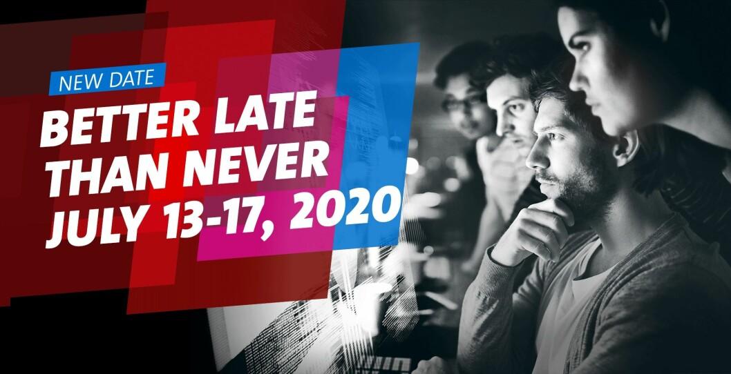 Slik markedsfører Hannover Messe 2020 sine nye datoer. Skjermdump.