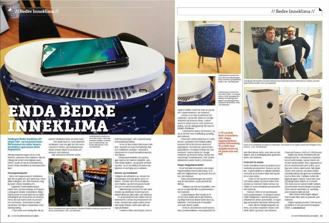 """Artikkelen ble første gang publisert i papirutgaven av fagbladet Elektronikkbransjen nr. 2/2020, som ble distribuert 14. april. <a href=""""https://www.mypaper.se/html5/customer/248/12832/?page=48"""" target=""""_blank"""" rel=""""noopener"""">Her kan du lese artikkelen</a> og bla gjennom digitalutgaven av bladet. Du kan lese alle utgaver av bladet digitalt, fra og med nr. 1/1937, på <a href=""""https://www.elektronikkbransjen.no/historiskarkiv"""" target=""""_blank"""" rel=""""noopener"""">elektronikkbransjen.no/historiskarkiv</a>."""
