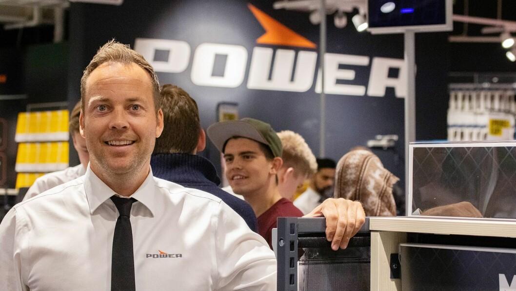 Anders Nilsen er kjedesjef i Power Norge. Foto: Power