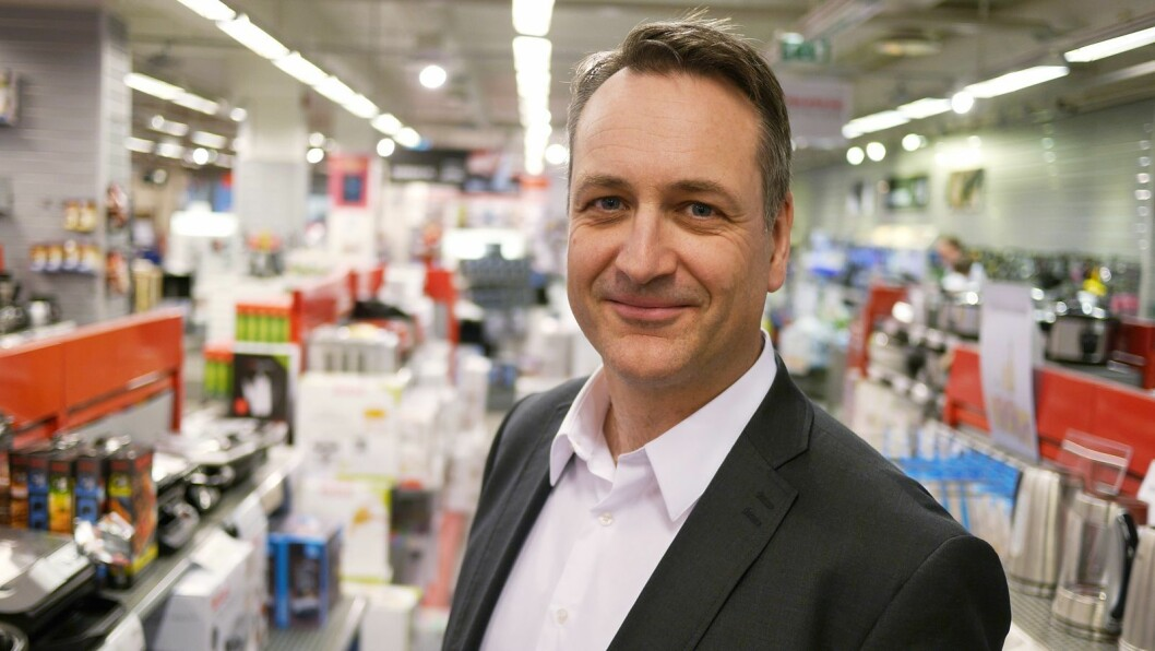 Administrerende direktør i Stiftelsen Elektronikkbransjen. Foto: Stian Sønsteng