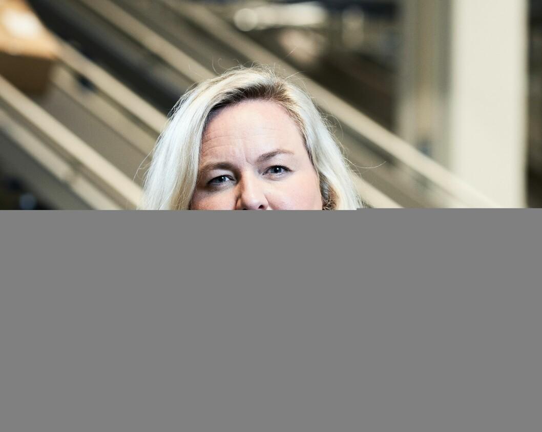Kristin Hovland er kommunikasjonssjef i Komplett. Foto: Komplett