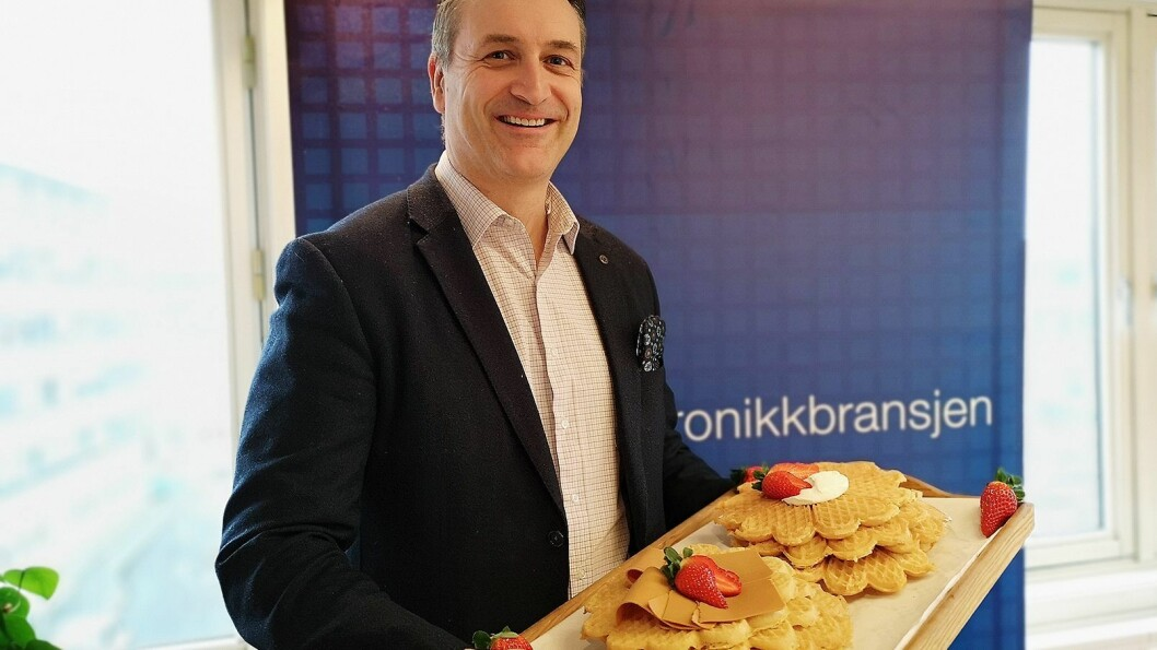 Adm. direktør Jan Røsholm i Stiftelsen Elektronikkbransjen. Foto: Marte Ottemo