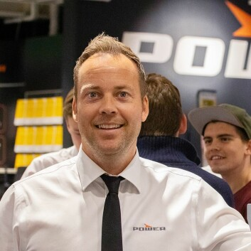 Anders Nilsen er administrerende direktør i Power Norge. Foto: Power.