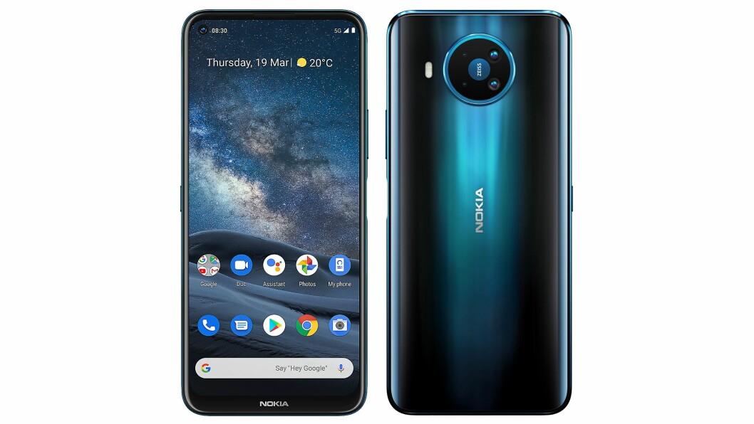 Nokia 8.3 5G er siste flaggskipet fra HMD Global, som sitter på rettighetene til Nokia-navnet. Foto: HMD Global