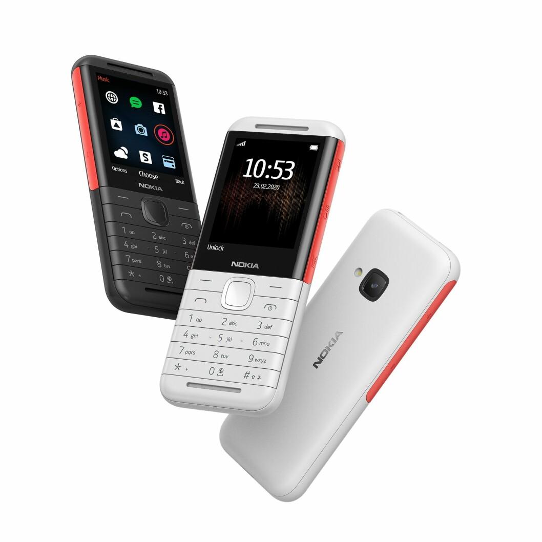 Lengter du tilbake til tiden med mp3-filer og et mobilbatteri som varte i dagevis? Retro-modellen 5310 lover begge deler. Foto: Nokia.