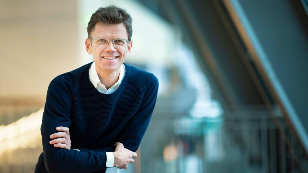 Administrerende direktør Petter-Børre Furberg i Telenor Norge. Foto: Telenor