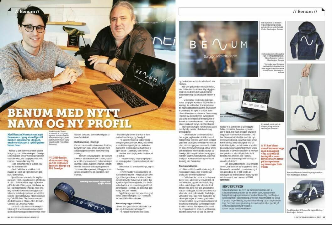 """Artikkelen ble første gang publisert i papirutgaven av fagbladet Elektronikkbransjen nr. 2/2020, som ble distribuert 14. april. <a href=""""https://www.mypaper.se/html5/customer/248/12832/?page=34"""" target=""""_blank"""" rel=""""noopener"""">Her kan du lese artikkelen</a> og bla gjennom digitalutgaven av bladet. Du kan lese alle utgaver av bladet digitalt, fra og med nr. 1/1937, på <a href=""""https://www.elektronikkbransjen.no/historiskarkiv"""" target=""""_blank"""" rel=""""noopener"""">elektronikkbransjen.no/historiskarkiv</a>."""