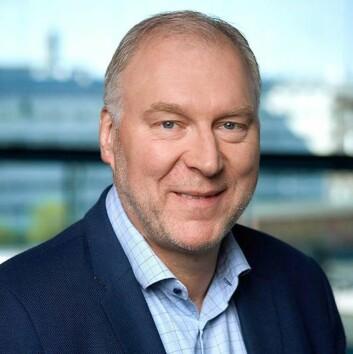 Stein-Erik Vellan, administrerende direktør i Telia Norge. Foto: Telia.