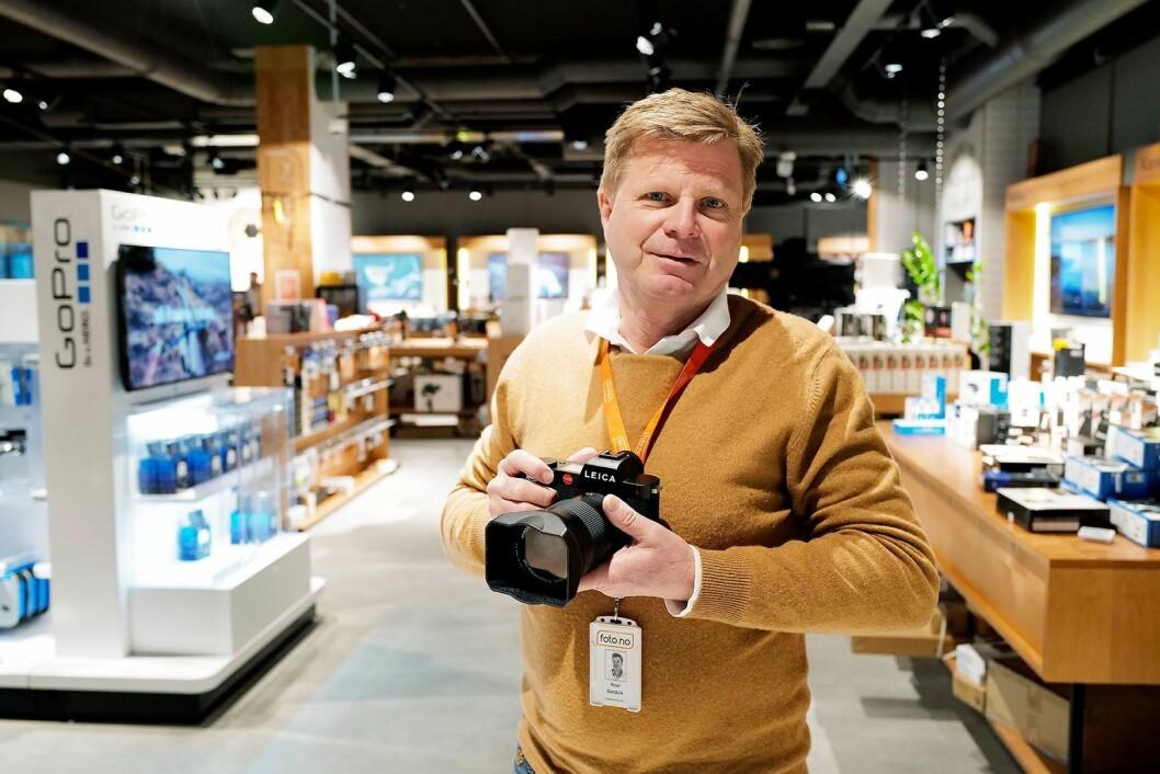 Roar Sandvik er styreleder, gründer og eier av Foto.no. Foto: Arash Taheri
