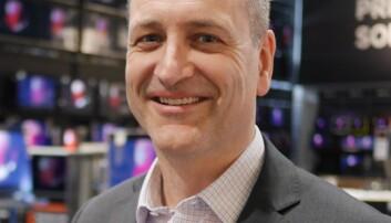 Jan Røsholm, administrerende direktør i Stiftelsen Elektronikkbransjen, sier Norge er først i Europa på å tilrettelegge et system for ombruk. Foto: Stian Sønsteng.