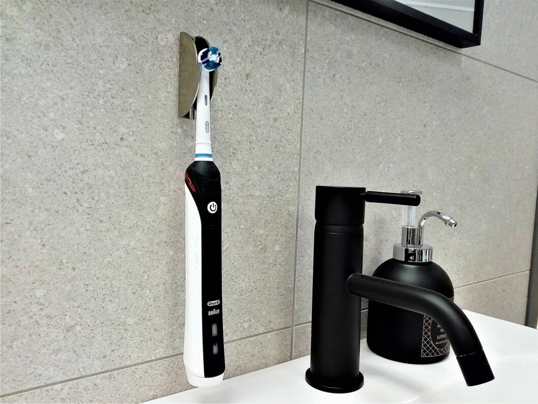 Veggholder for elektrisk tannbørste