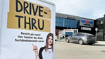 DRIVE-THRU I ALLE NETONNET-BUTIKKER