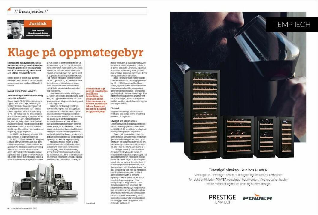 """Artikkelen ble første gang publisert i papirutgaven av fagbladet Elektronikkbransjen nr. 3/2020, som ble distribuert 22. juni. <a href=""""https://www.mypaper.se/html5/customer/248/12881/?page=44"""" target=""""_blank"""" rel=""""noopener"""">Her kan du lese artikkelen</a> og bla gjennom digitalutgaven av bladet. Du kan lese alle utgaver av bladet digitalt, fra og med nr. 1/1937, på <a href=""""https://www.elektronikkbransjen.no/historiskarkiv"""" target=""""_blank"""" rel=""""noopener"""">elektronikkbransjen.no/historiskarkiv</a>."""
