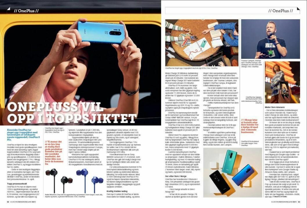 """Artikkelen ble første gang publisert i papirutgaven av fagbladet Elektronikkbransjen nr. 3/2020, som ble distribuert 22. juni. <a href=""""https://www.mypaper.se/html5/customer/248/12881/?page=62"""" target=""""_blank"""" rel=""""noopener"""">Her kan du lese artikkelen</a> og bla gjennom digitalutgaven av bladet. Du kan lese alle utgaver av bladet digitalt, fra og med nr. 1/1937, på <a href=""""https://www.elektronikkbransjen.no/historiskarkiv"""" target=""""_blank"""" rel=""""noopener"""">elektronikkbransjen.no/historiskarkiv</a>."""