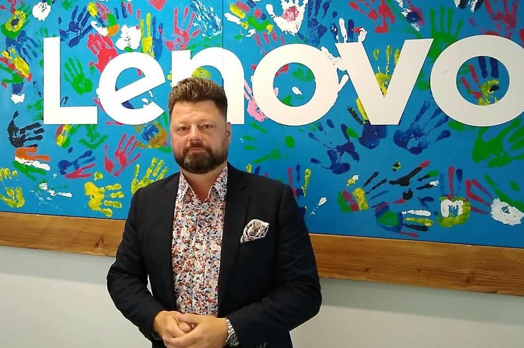 Peter Lundkvist, nordisk markedssjef i Motorola, håper å få på plass en dedikert Motorola-organisasjon i Norge i løpet av kort tid. Foto: Lenovo.