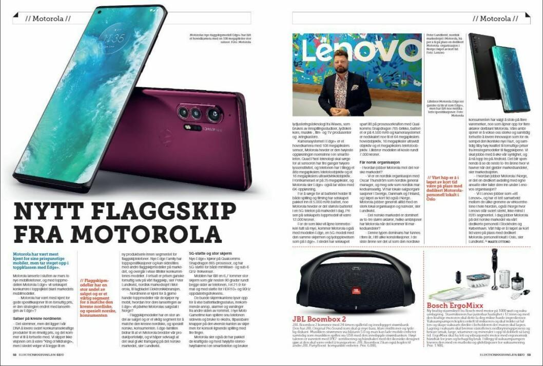 """Artikkelen ble første gang publisert i papirutgaven av fagbladet Elektronikkbransjen nr. 3/2020, som ble distribuert 22. juni. <a href=""""https://www.mypaper.se/html5/customer/248/12881/?page=58"""" target=""""_blank"""" rel=""""noopener"""">Her kan du lese artikkelen</a> og bla gjennom digitalutgaven av bladet. Du kan lese alle utgaver av bladet digitalt, fra og med nr. 1/1937, på <a href=""""https://www.elektronikkbransjen.no/historiskarkiv"""" target=""""_blank"""" rel=""""noopener"""">elektronikkbransjen.no/historiskarkiv</a>."""