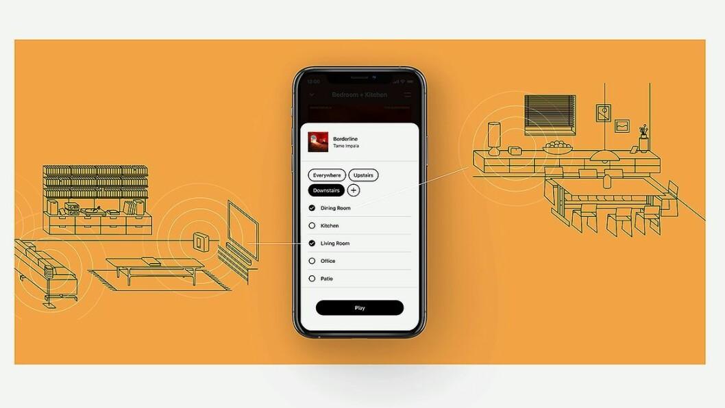 Sonos' nye app S2 er klar for nedlasting 8. juni. Foto: Sonos.
