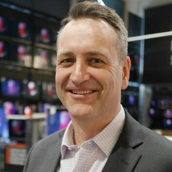 Administrerende direktør Jan Røsholm i Stiftelsen Elektronikkbransjen. Foto: Stian Sønsteng.