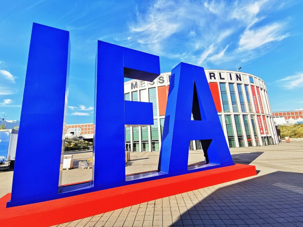 IFA 2021 i Berlin er avlyst. Foto: Stian Sønsteng