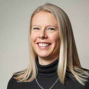Nordisk marketingsjef Malin Sörensson i Logitech. Foto: Logitech.