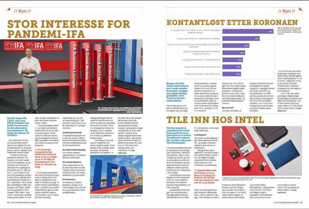 """Artikkelen ble første gang publisert i papirutgaven av fagbladet Elektronikkbransjen nr. 3/2020, som ble distribuert 22. juni. <a href=""""https://www.mypaper.se/html5/customer/248/12881/?page=78"""" target=""""_blank"""" rel=""""noopener"""">Her kan du lese artikkelen</a> og bla gjennom digitalutgaven av bladet. Du kan lese alle utgaver av bladet digitalt, fra og med nr. 1/1937, på <a href=""""https://www.elektronikkbransjen.no/historiskarkiv"""" target=""""_blank"""" rel=""""noopener"""">elektronikkbransjen.no/historiskarkiv</a>."""