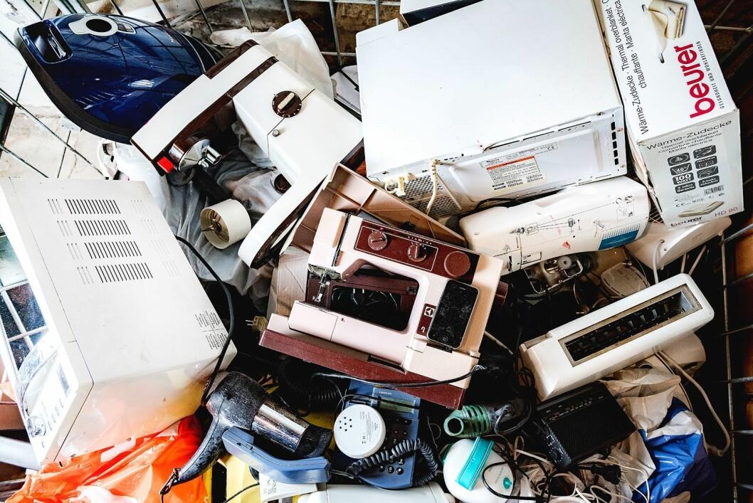 – Ifølge Miljødirektoratet slurves det mer enn før med å sikre EE-avfall kundene leverer inn til de ulike mottakene, skriver kronikkforfatteren. Foto: Renas