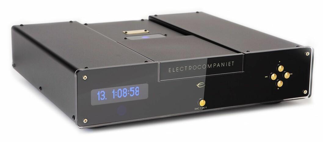CD-spilleren EMC1 fra Electrocompaniet er kommet i en helt ny MkV-modell til 45.000 kroner. Foto: Electrocompaniet.