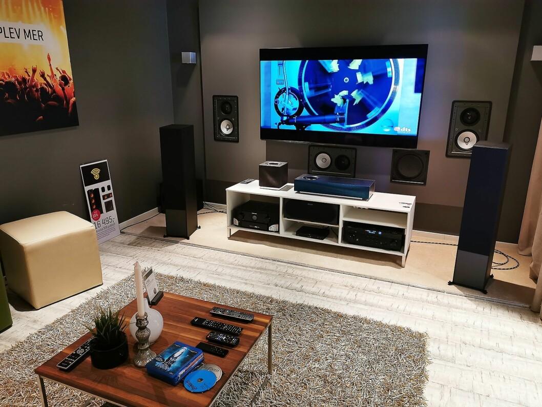 Soundgarden Forus har tre lytterom. Foto: Atle Dreier.